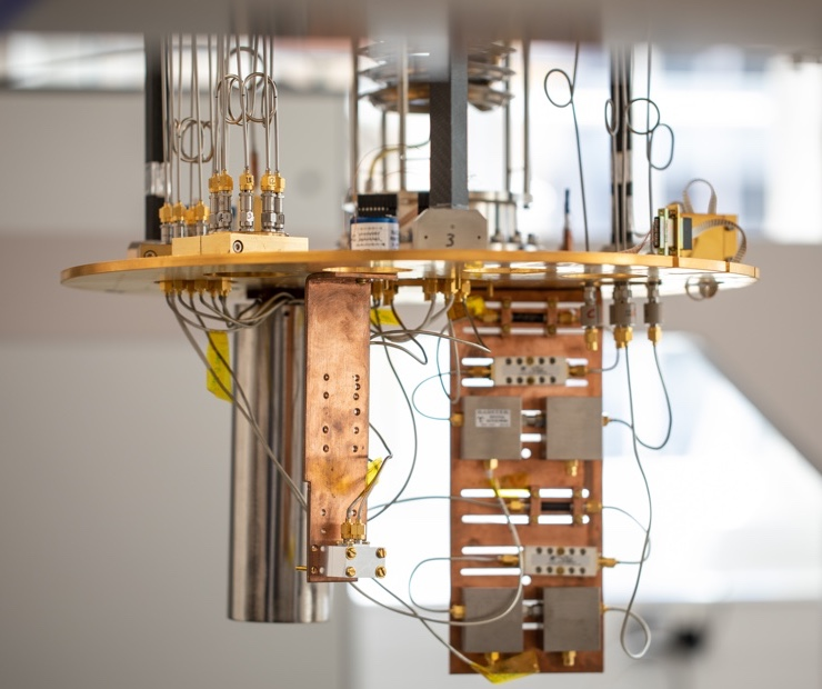 Pioneering quantum computing for 3 years